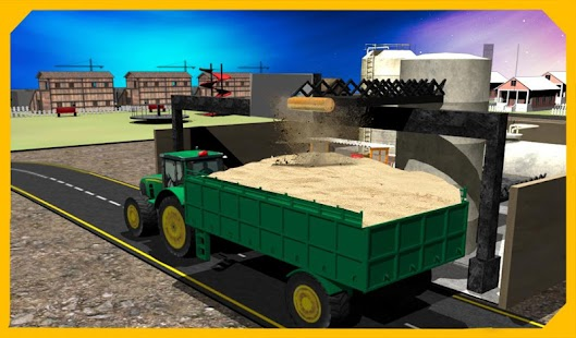 Tractor Sand Transporter 3D- screenshot thumbnail