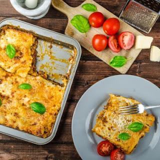 Overnight Lasagna Bolognese