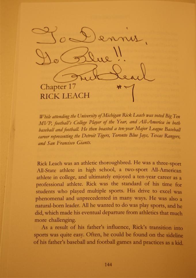 Photo: Rick Leach book