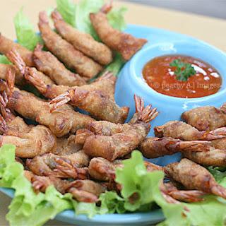 Crispy Shrimp Wontons.