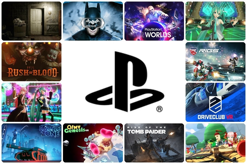 [PlayStation] ประกาศ 32 เกม VR จำหน่ายพร้อมเครื่อง!!