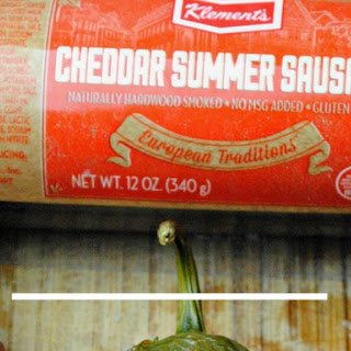 Klements Summer Cheddar Sausage Bacon Wrapped Poppers