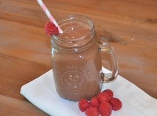 Decedent Chocolate Raspberry Smoothie Recipe