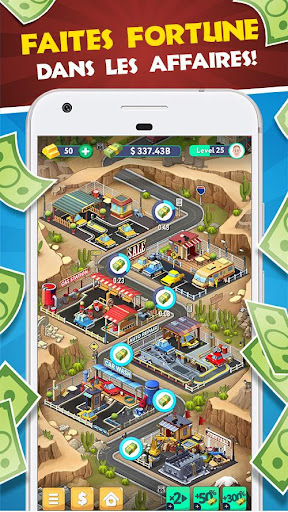 Code Triche Tap Tap Capitalist - City Idle Clicker APK MOD screenshots 1
