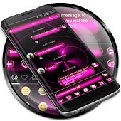 SMS Messages Spheres Pink