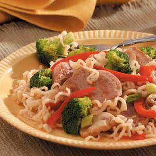 Broccoli Pork Stir-Fry