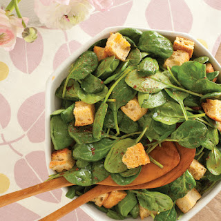 Spinach Salad with Sun-Dried Tomato Vinaigrette