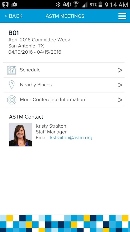 ASTM Mobile- screenshot
