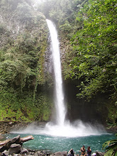 Photo: Made it down to the pools at the La Fortuna Waterfall