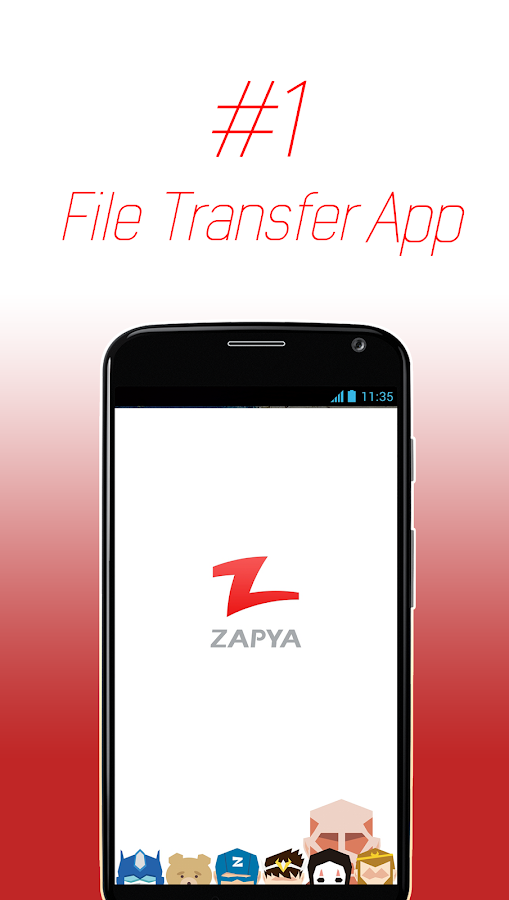 Zapya - File Transfer, Sharing- screenshot