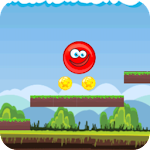 Red Ball 5 - Roll Ball jump Icon