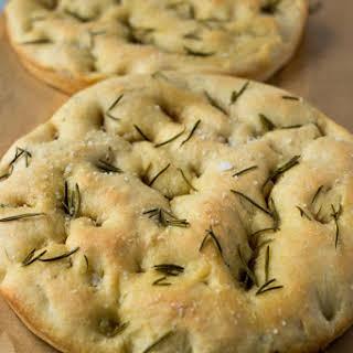 Rosemary & Olive Oil Focaccia Bread.