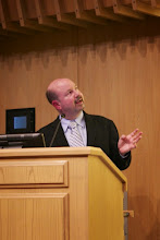 Photo: Professor Mann's talk