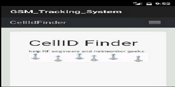 GSM tracking screenshot 1