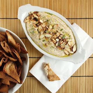 White Bean Spread with Rosemary and Toasted Almonds.