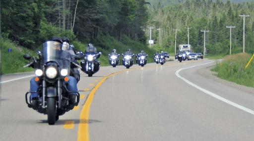 voyage moto Baleines Quebec moto