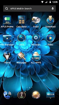 Download Blue Flower Butterfly