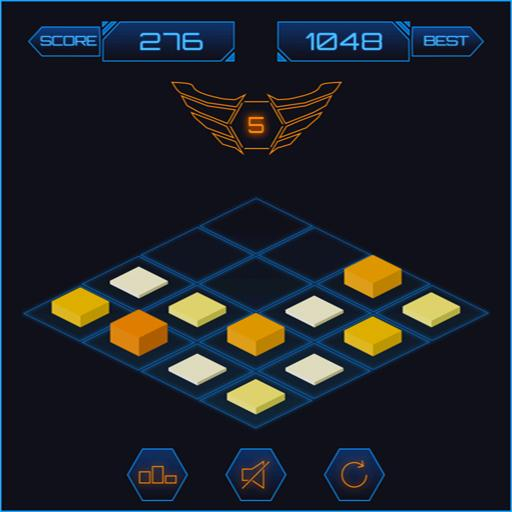 3D 2048 Mobile Number Puzzle Game