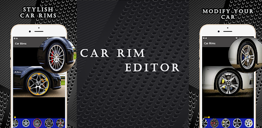 Replace car rims with stylish cars rims and modify your car with car rim editor