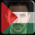 Le drapeau palestinien icon
