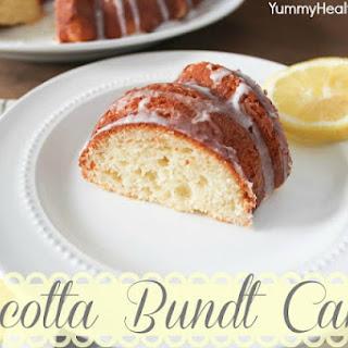 Glazed Ricotta Bundt Cake.