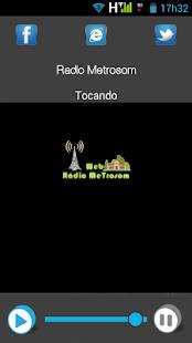 Web Rádio MeTrosom - náhled