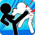 Stickman Fighter : Mega Brawl Action Game