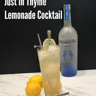 Just in Thyme Lemonade.