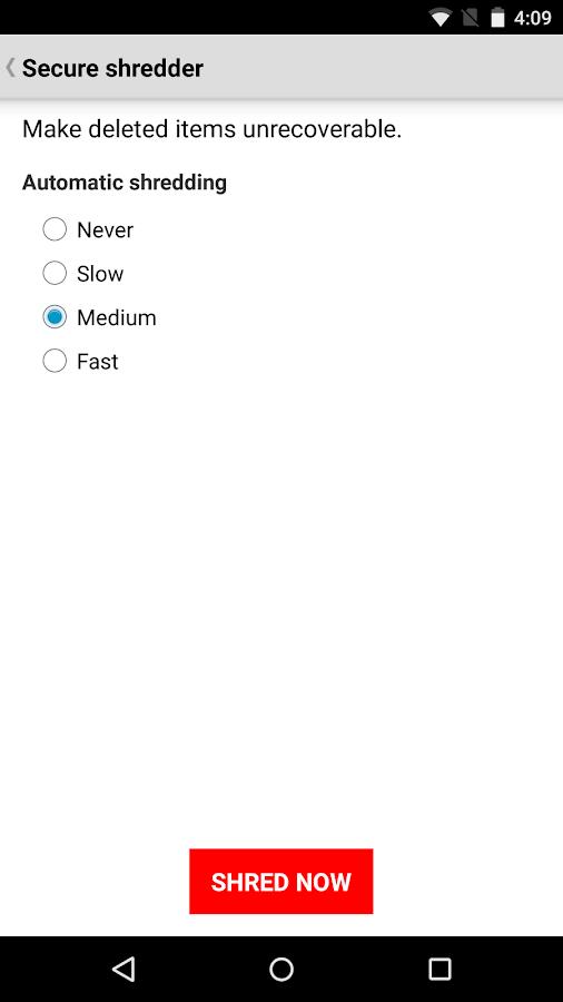 Wickr-Top Secret Messenger- screenshot