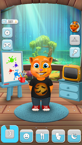 My Talking Cat Tommy - Virtual Pet apkpoly screenshots 9