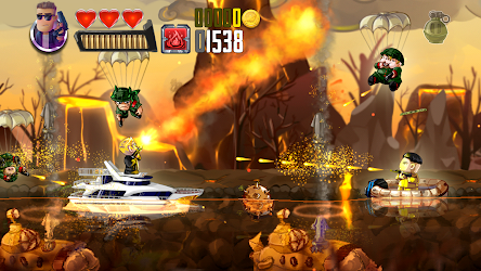 Ramboat: Shoot and Dash 3.11.1 (Unlimited Gold/Gems) MOD Apk 8