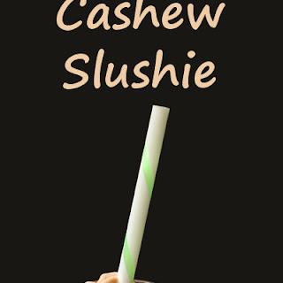 Chocolate Cashew Slushie