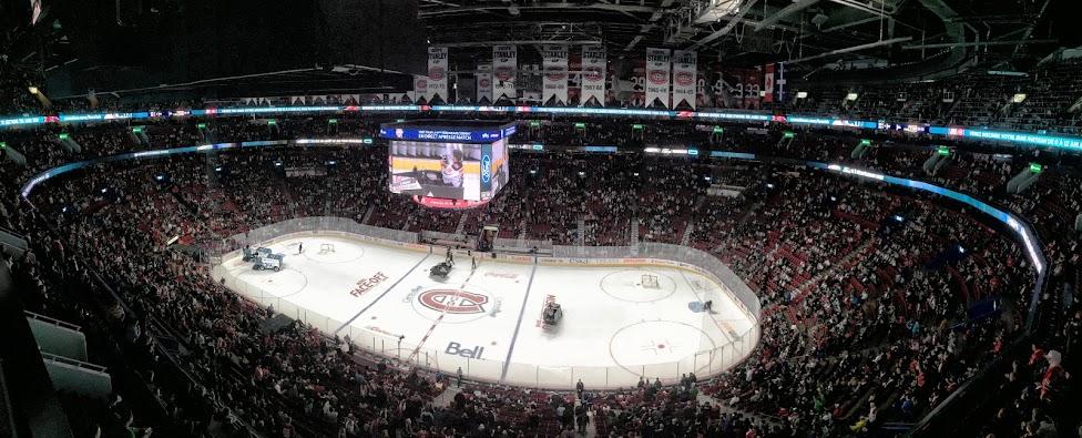 hokej w Kanadzie, Montreal Canadiens, mecz, bell Center, Habs