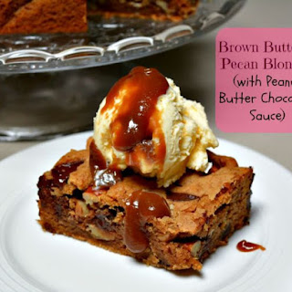 Brown Butter Pecan Blondies