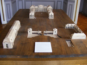Photo: This model shows Colbert's original château and associated buildings, including the still present Orangerie on the left