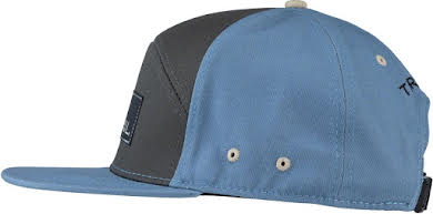 Teravail 7-Panel Cap: Turquoise/Dark Gray One Size alternate image 0