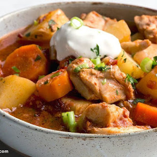 Slow Cooker Chicken Potatoes Carrots Onions Recipes
