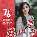 Bingkai Foto HUT RI 76 17 Agustus 2021 🇮🇩 icon