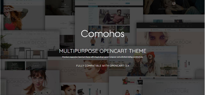 Comohos- Opencart theme