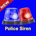 Police Loud Siren Sound-Free Ringtones icon