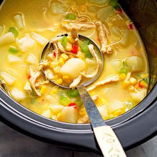 Healthy Chicken Corn Chowder Crock Pot Recipes