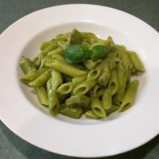 Chicken Pesto Pasta - Gluten Free, Dairy Free