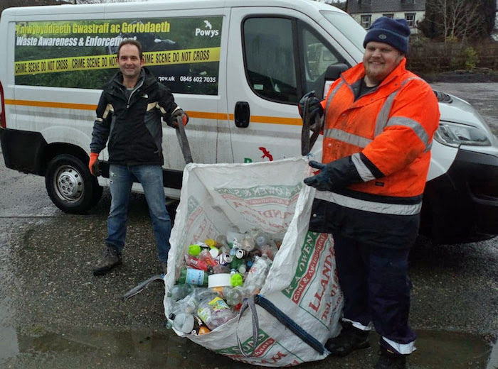 Recycling campaign brings old recycling bins back to use