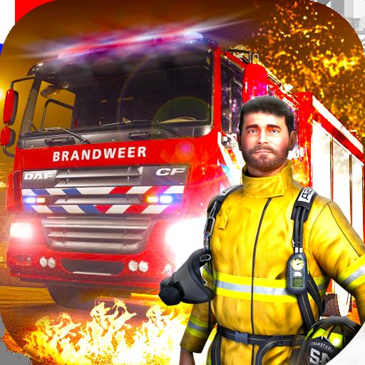 市の消防士の英雄 模擬 App LOGO-硬是要APP
