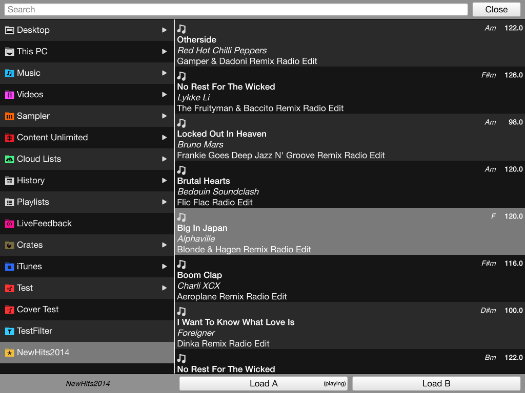 VirtualDJ Remote- screenshot