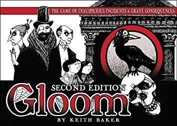Box art for Gloom ( source: Published by Atlas Games )