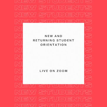 Student Orientation - Instagram Post template