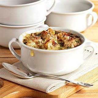 Caramelized Onion and Mushroom Soup.