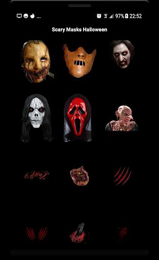 Scary Masks Photo Editor Halloween Horror image 2