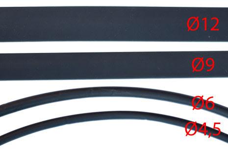 Krympeslange, Ø6mm krymper til Ø3mm